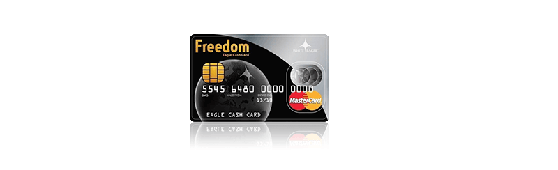 Freedom Eagle Cashcard