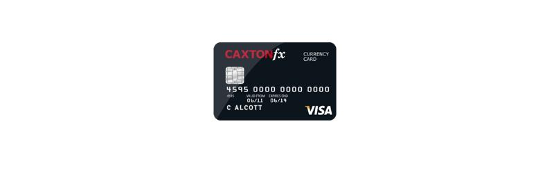 Caxton FX Prepaid Card