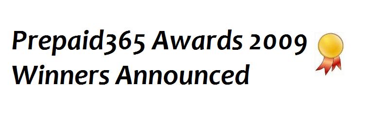 Prepaid365 Awards 2009