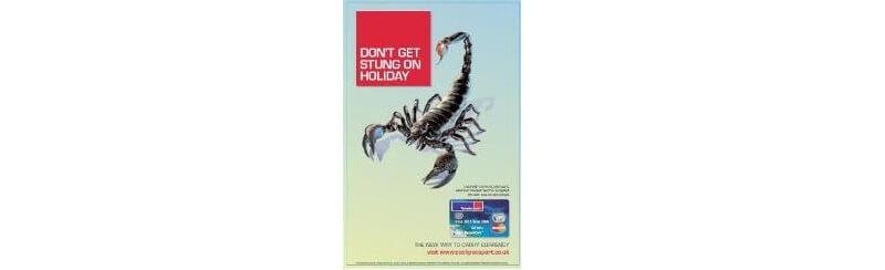 Travelex Ad Campaign