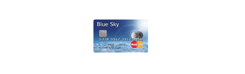 Blue Sky Prepaid Card