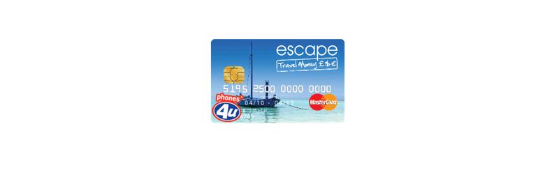Escape Travel Money Prepaid Card