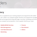 Prepaid365 Launches Prepaid Card Provider Business Listings and Prepaid Supplier Directory