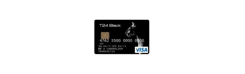 T24 Black Prepaid Card