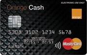 Orange Cash Prepaid Card