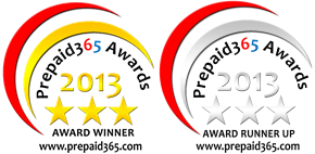 Prepaid365 Awards 2013 Badges