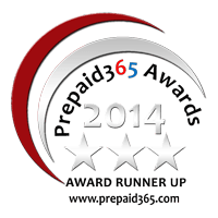Prepaid365 Awards 2014 Runners-up Badge