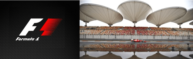 Formula 1 Chinese Grand Prix beckons.