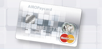 Another first for PFS with the launch of the first MasterCard® prepaid card in Finland - Airopay