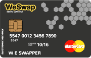 WeSwap Prepaid Card